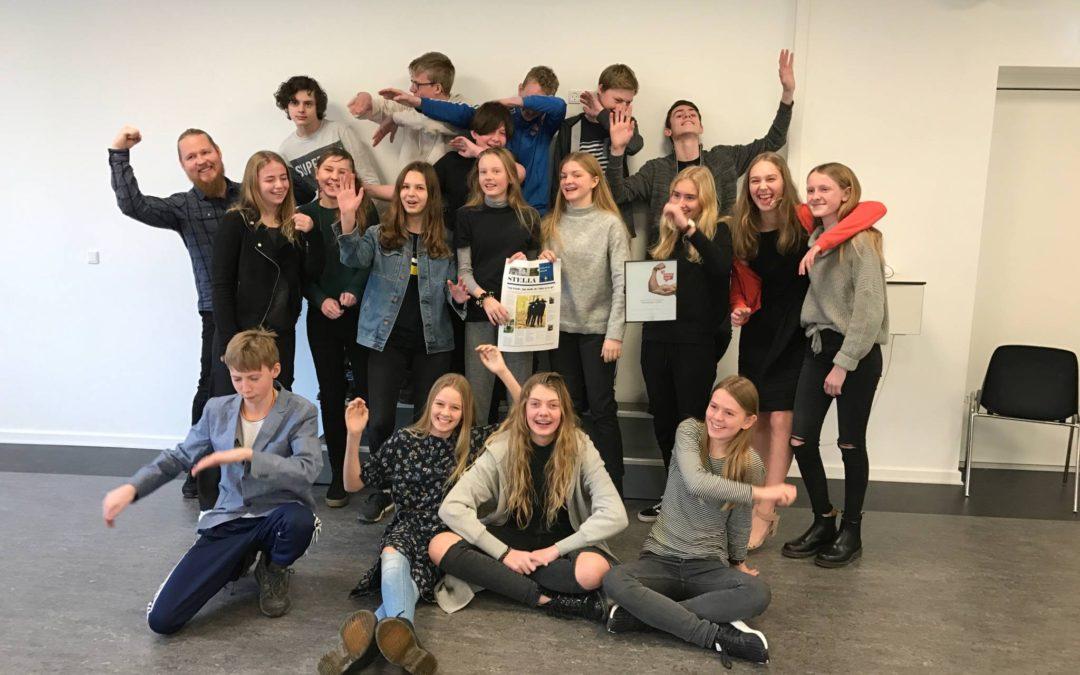 7. a vinder landsdækkende aviskonkurrence!