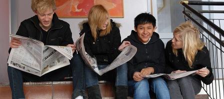 Lige i skabet: Spot On er byens bedste skoleavis